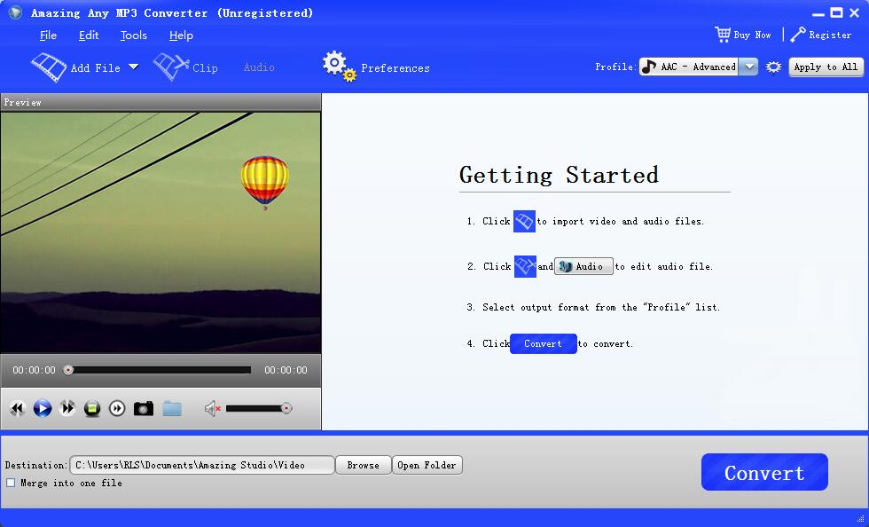 Any MP3 Converter Software: Convert YouTube/Video/Audio to MP3