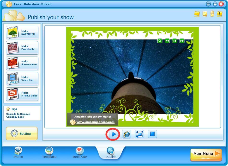 photo slideshow maker download full version