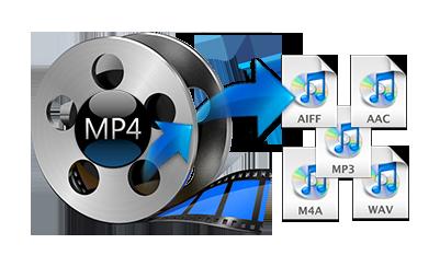 convert mp4 to wav audacity